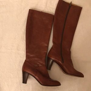 BALLY tall leather boots